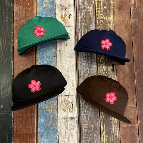 Like SUSHI Floral cap goes hard
