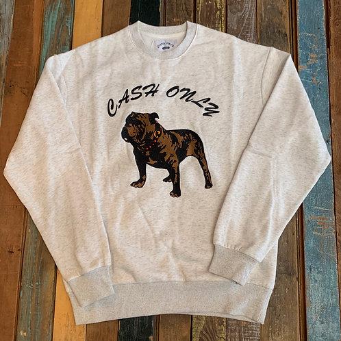Cash Only Bulldog Crewneck