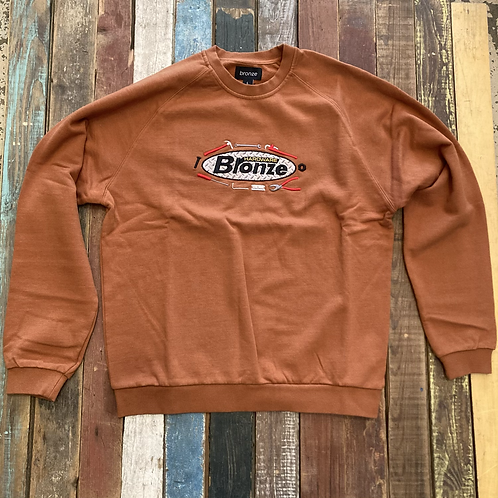 You better get this Bronze 56k Tool Time crewneck