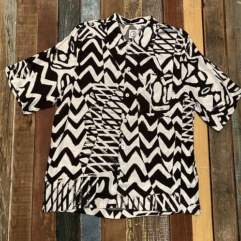 Polar Art Shirt (Black/White)