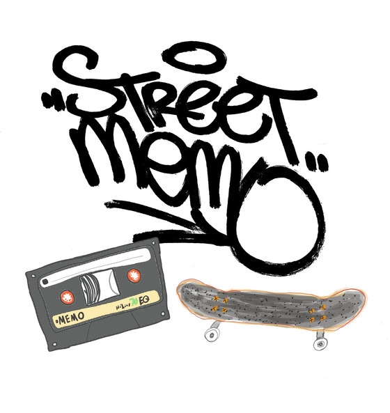Street Memo: Illustrated Moments