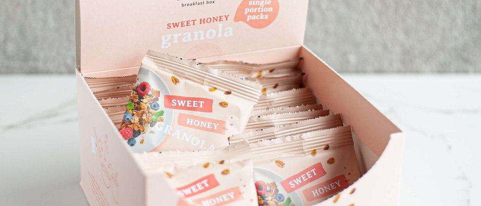 Granola Sweet Honey - 20 x sachets-portions
