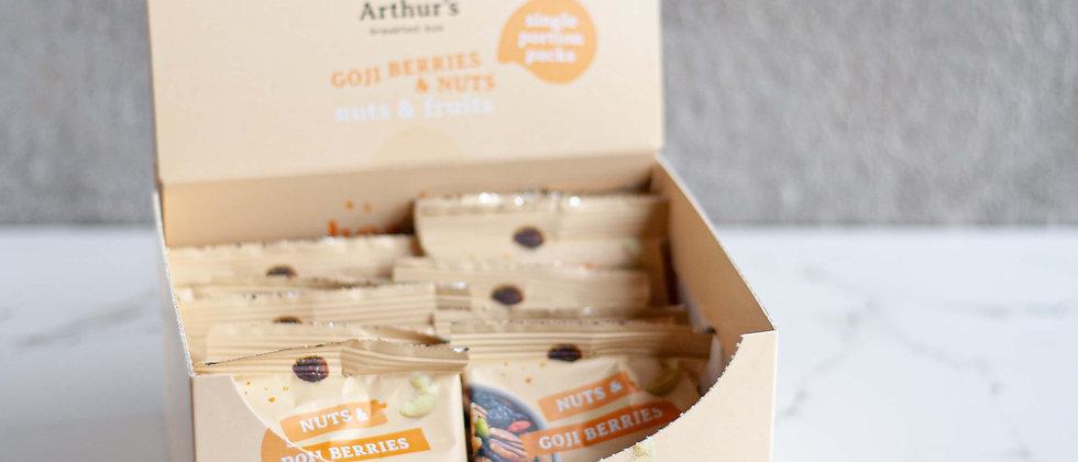 Nuts & Goji berries - Portiezakjes x 20