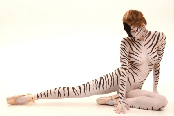Zebra Bodypaint