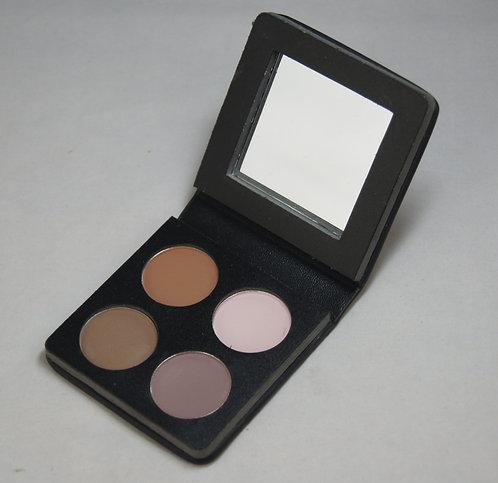 4 pan empty eyeshadow compact