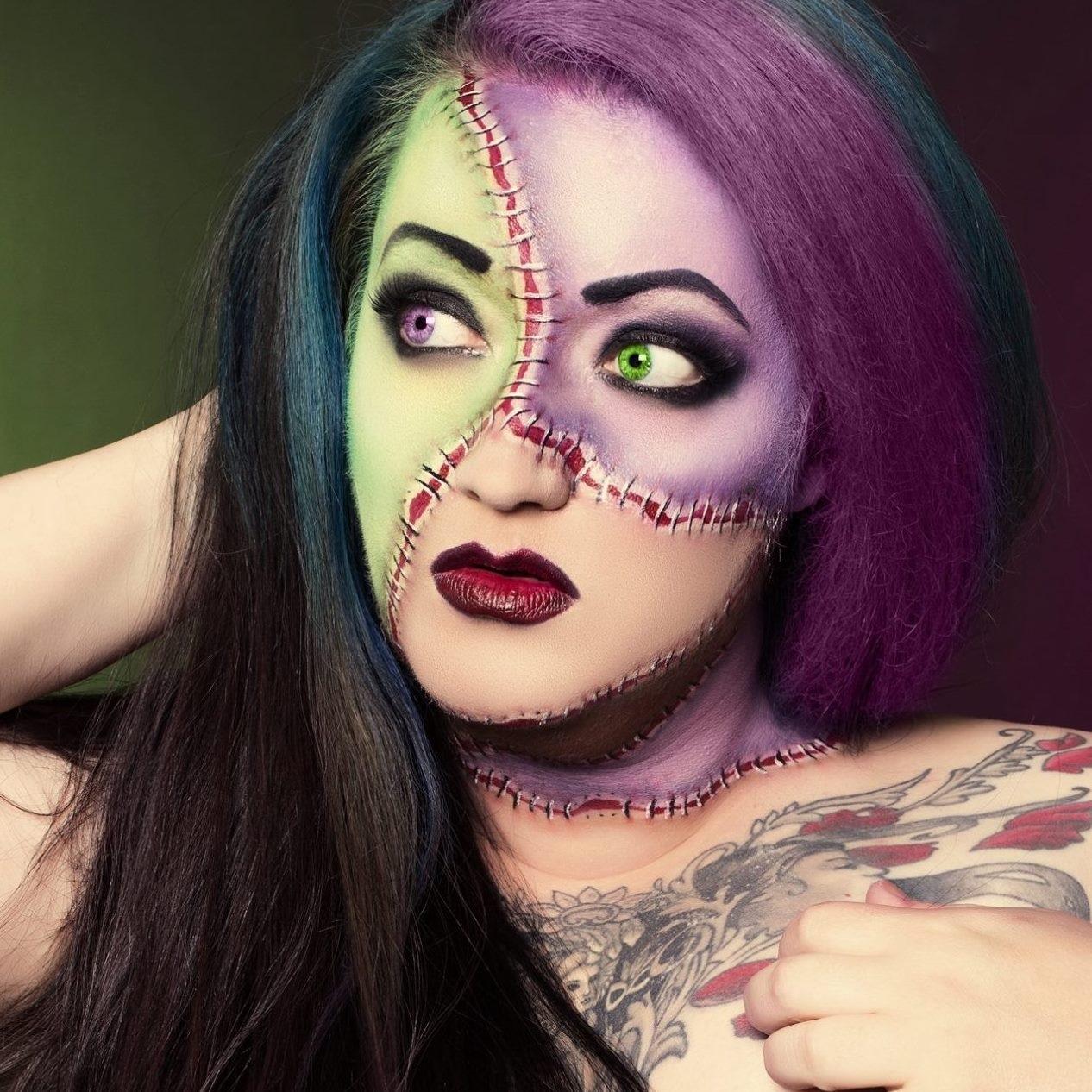 Frankenstein inspired Makeup