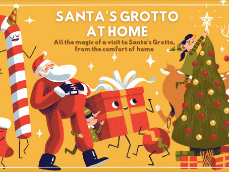 SANTA COLLABORATES WITH VODKA ON TOAST TO BRING FAMILIES 'SANTA'S GROTTO AT HOME'