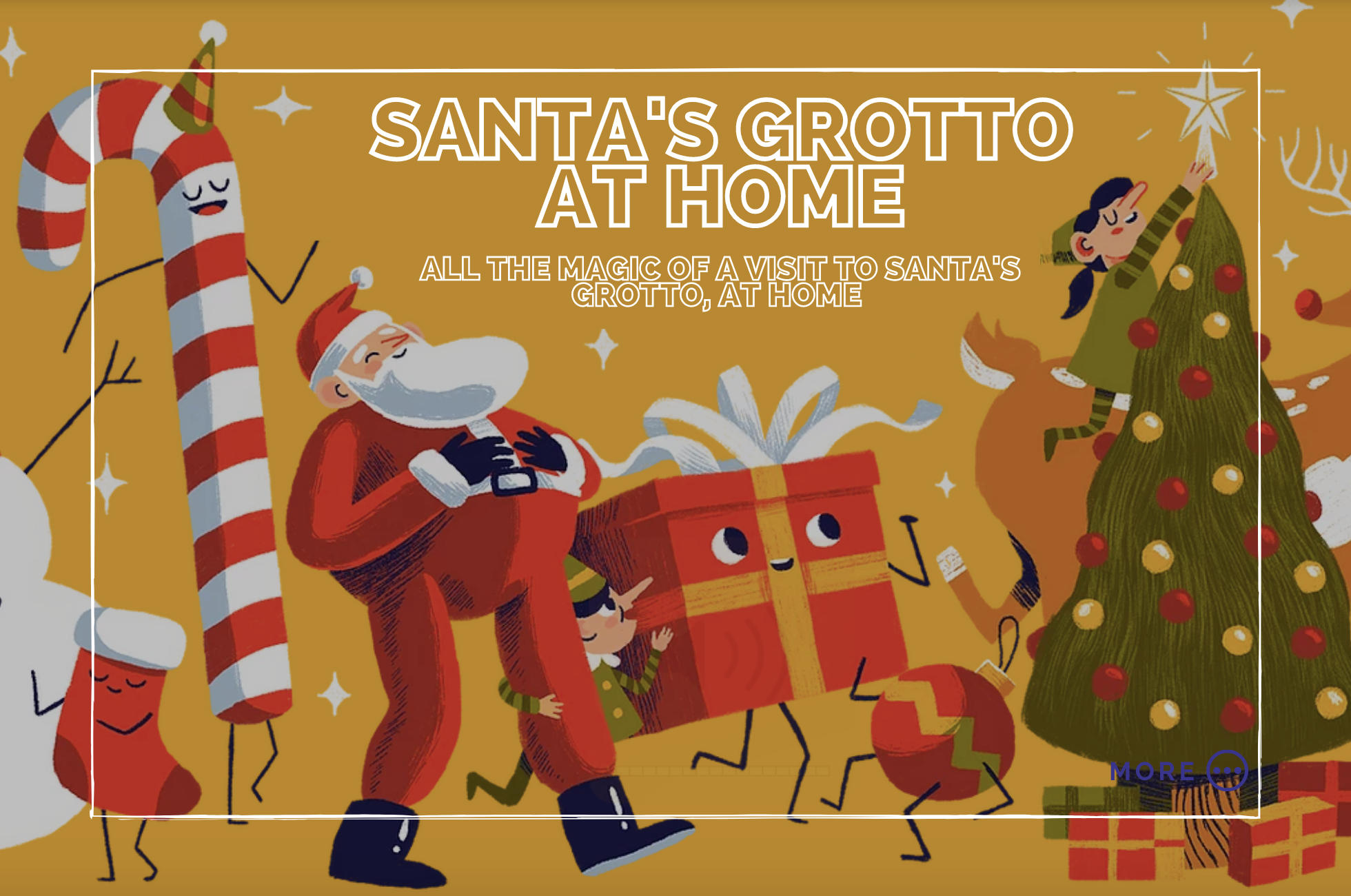 Santa's Grotto at Home