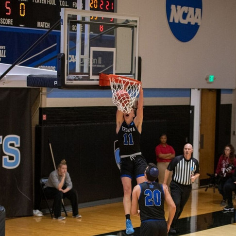 Leifer's Triple-Double and Turell's 30 Points Launches Macs into Sweet 16