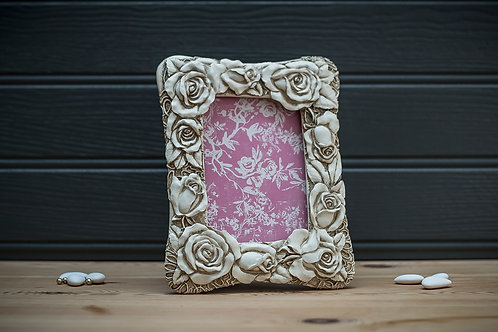 Rose & Bud Picture Frame
