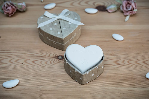 Scented Discs In Heart Shaped Box