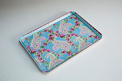 Rose & Paisley Snack Tray