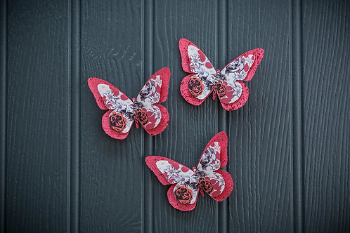 Double Butterfly Clip