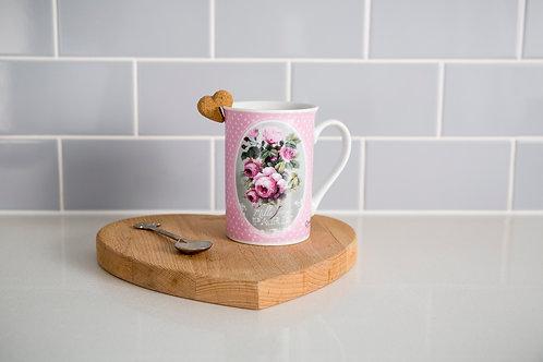Thousand Roses Porcelain Mug