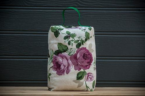 Rose Fabric Doorstop