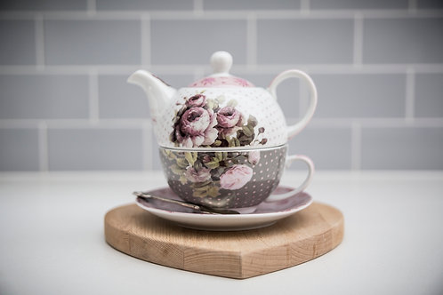 Thousand Roses Tea for one Set
