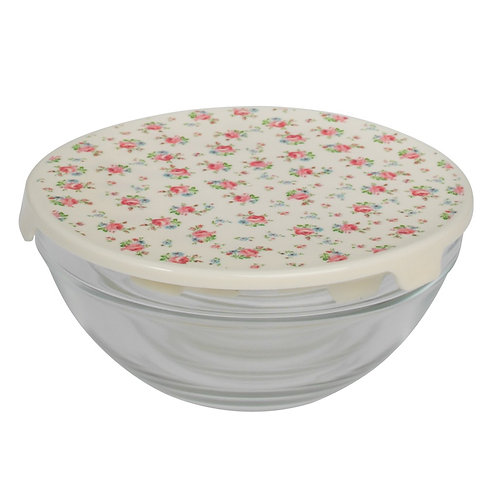 Set of Five Kitchen Bowls with Lids
