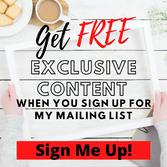 Get FREE exclusive content when you sign
