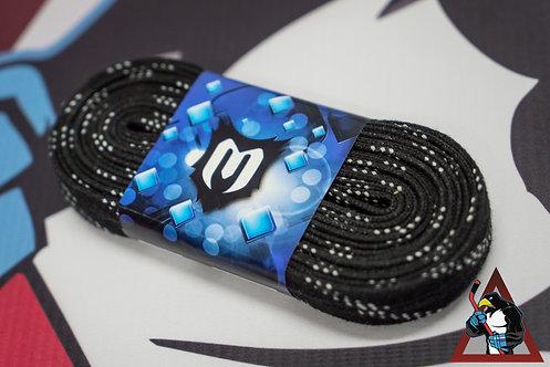 Шнурки для коньков с пропиткой Eco-Line чёрный