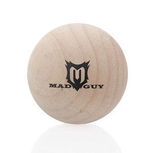 Мяч хоккейный деревянный Mad Guy