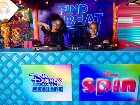 "GMB DJ The Premiere Of New Disney Film ""Spin"""