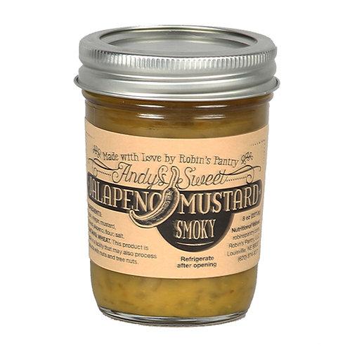Andy's Sweet Jalapeno Smoky Mustard Small