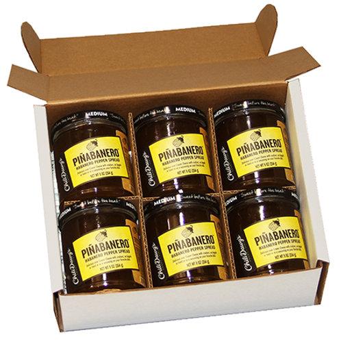 6 Pack Case Piñabanaro Pepper Spread