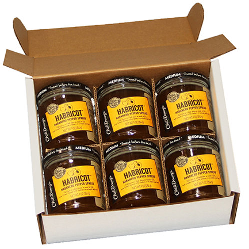 6 Pack Case Habricot Pepper Spread