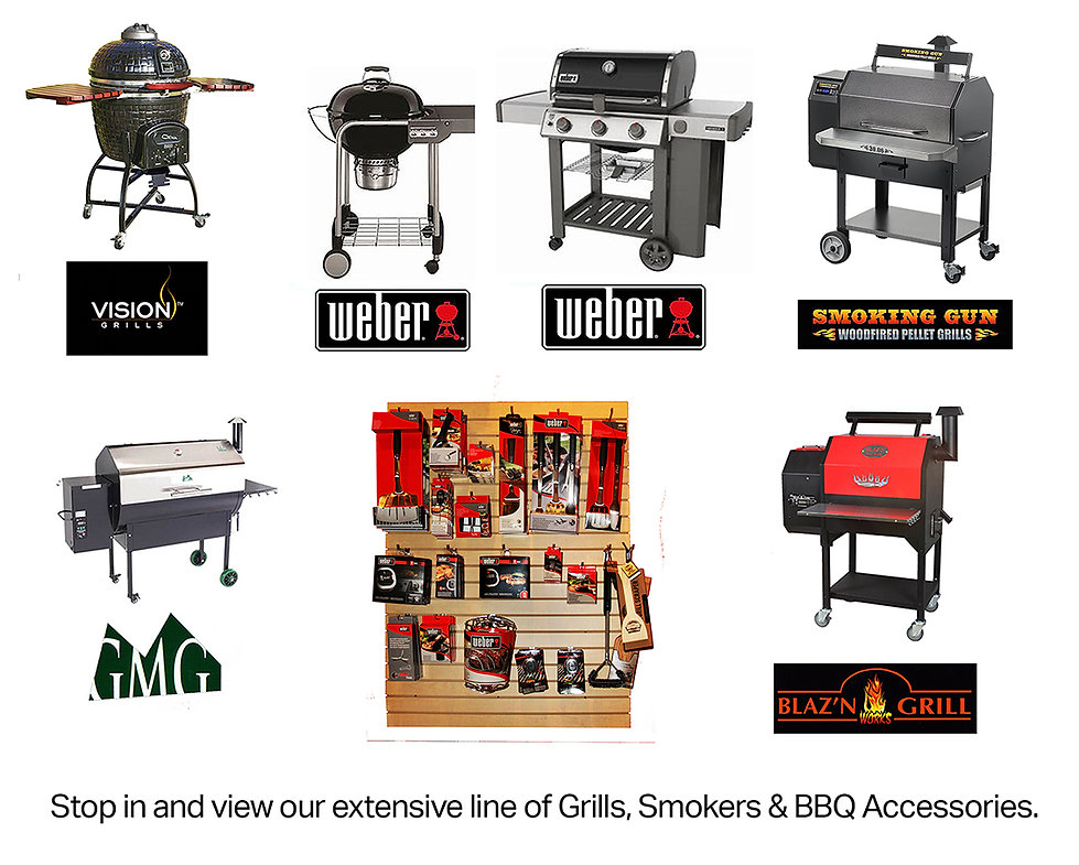 Grills, smookers & accessories for web e