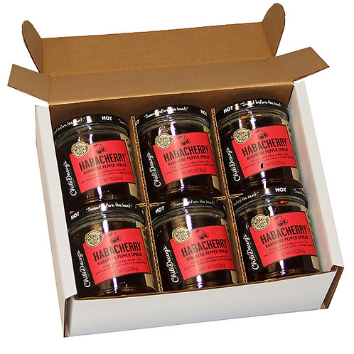 6 Pack Habacherry Pepper Spread