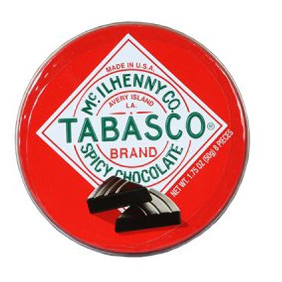 Tabasco Spicy Chocolate Tin Chocolates