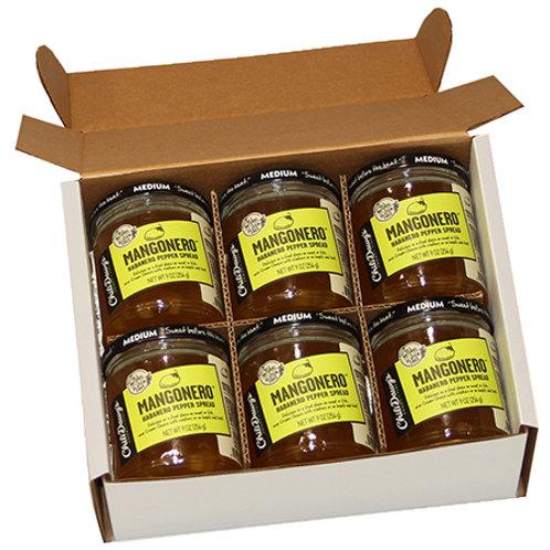 6 Pack Case Mangonero Pepper Spread