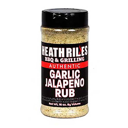 Heath Riles BBQ & Grilling Garlic Jalapeno Rub