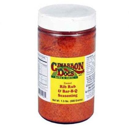Cimarron Docs Sweet Rib Rub and BBQ Seasoning