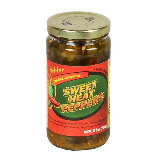 Sweet Heat Jalapeno Peppers Hotter