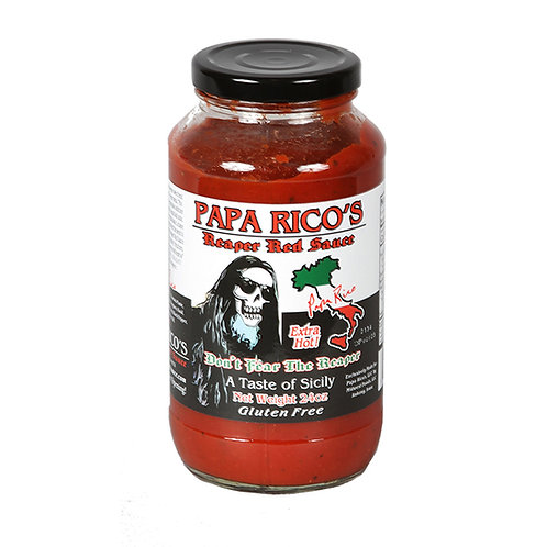 Papa Rico's Reaper Red Sauce