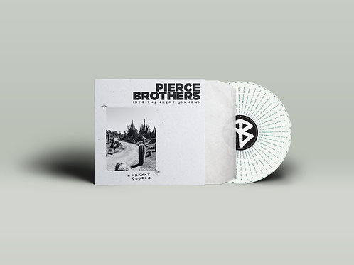 Pierce Brothers - Into The Great Unknown LIMITED EDITION ZOETROPE LP