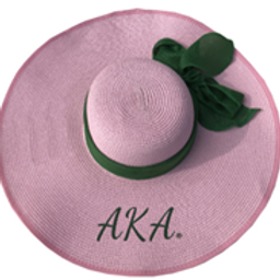 AKA Pink Floppy Sun Hat