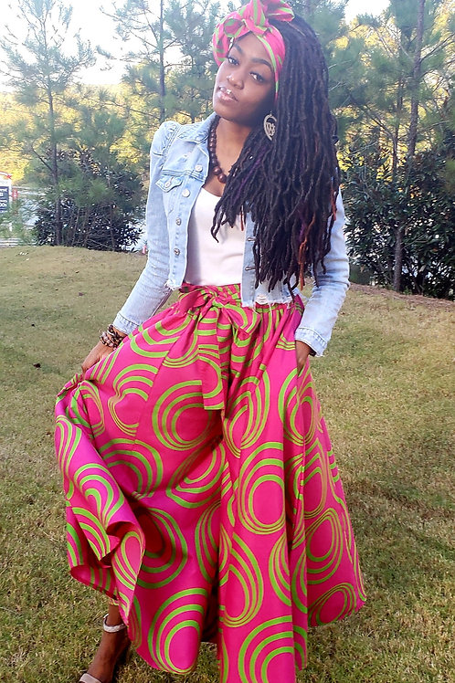 African Palazzo Pants (not a skirt)