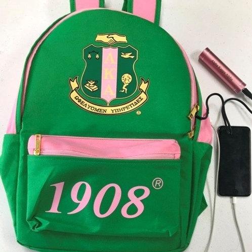 AKA USB Port Backpack
