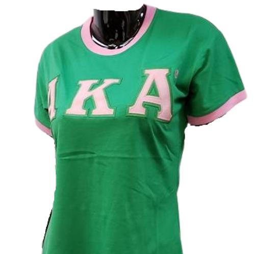 AKA Ringer T-Shirt (Short Sleeve)