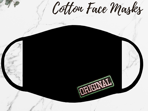 Original Soft Cotton Face Mask