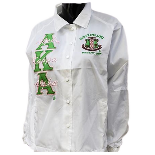 White AKA Line Jacket
