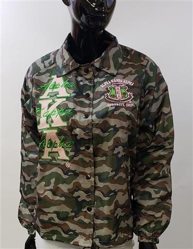 Camo Line Jacket