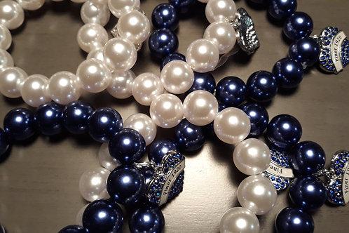 Zeta Stretch Bracelet (Larger Bead)