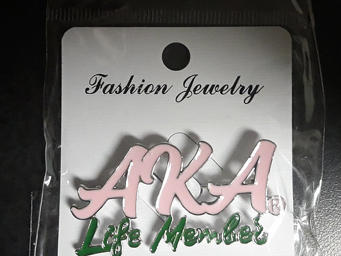 AKA Life Member Pin