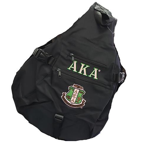 AKA BLACK Sling Backpack