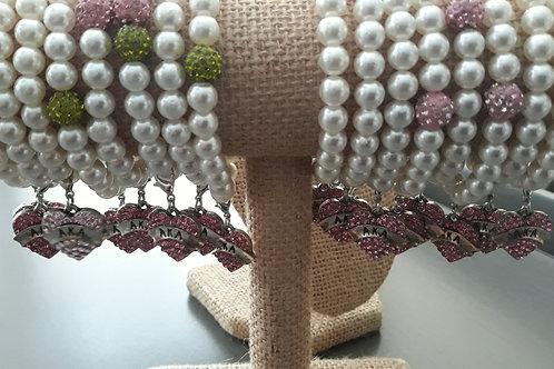 AKA Pearl Stretch Bracelets