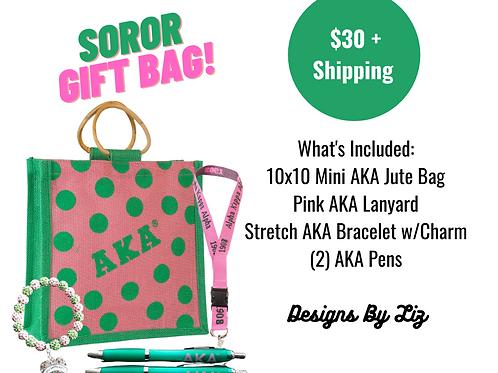 Soror Gift Bag Set