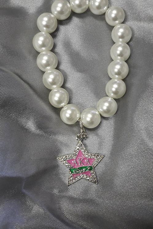 AKA Stretch Bracelet w/Silver Star Charm
